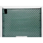 Har-Tru Privacy Screens: 44 Inch x 150' without Hem & Grommets - Courtmaster Tennis Windscreens