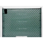 Har-Tru Privacy Screens: 89 Inch x 150' with Hem & Grommets - Courtmaster Tennis Windscreens