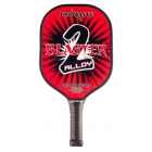 Pro-Lite Blaster 2 Alloy Paddle (Red) - Tennis Court Equipment