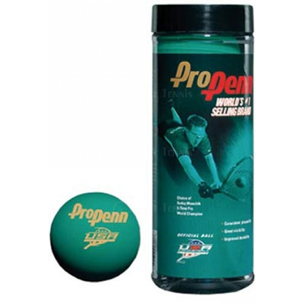 Pro Penn Green Racquetball Balls (Can)