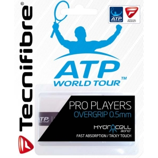 Tecnifibre Pro Players Overgrip 3 Pack (White)