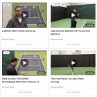 2MinuteTennis.net Instructional Website 3 Month Membership  - Training by Sport