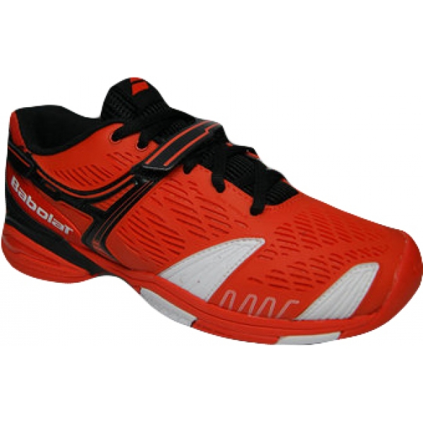 Babolat Propulse 4 Junior Tennis Shoe (Orange/ Black)