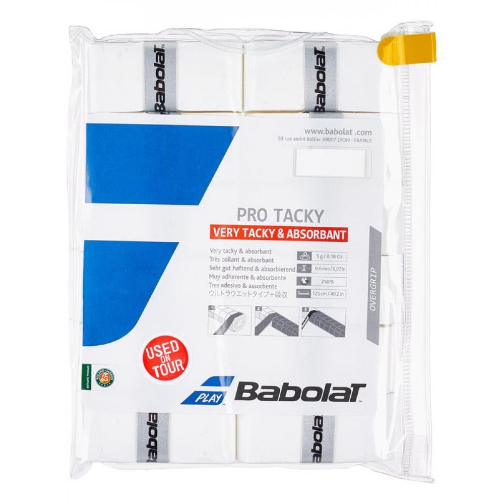 Babolat Pro Tacky Overgrip 12-Pack