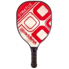 Paddletek Stratus Paddle (Red) - Tennis Court Equipment