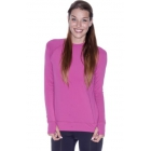 Bloq-UV Long Sleeve Tennis Pullover (Orchid) - Bloq-UV Women's Long-Sleeve Shirts