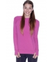 Bloq-UV Long Sleeve Tennis Pullover (Orchid) - Women's Tops