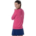 Bloq-UV Long Sleeve Tennis Pullover (Passion Pink) - Women's Tennis Apparel