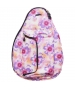 Jet Purple Tropical Mini Backpack - Womens Bags