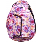 Jet Purple Tropical Petite Backpack - Tennis Racquet Bags