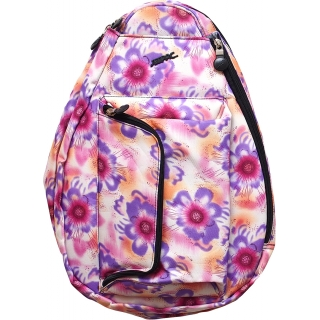 Jet Purple Tropical Petite Backpack