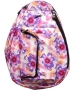 Jet Purple Tropical Petite Backpack - Womens Bags