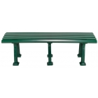 Putterman Midcourt Bench (Green) - Tennis Benches 6-7 Feet