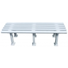 Putterman Midcourt Bench (White) - Tennis Equipment Types