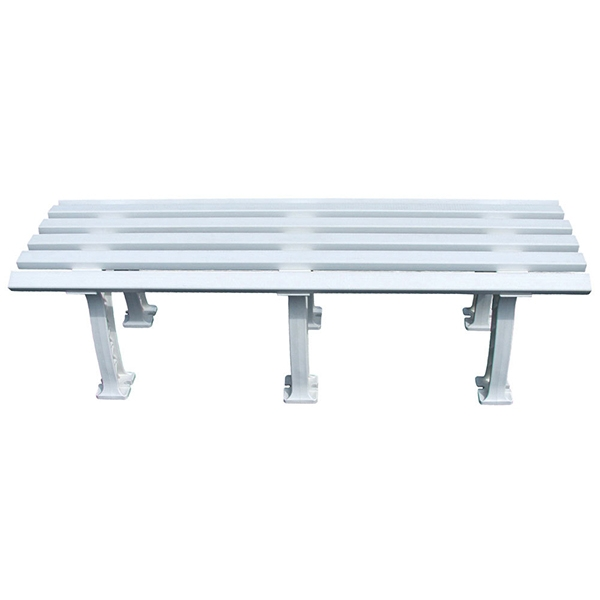 Putterman Midcourt Bench (White)