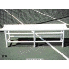 PVC Pro Bench - Tennis Court Equipment