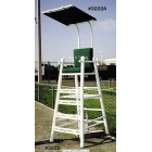 PVC Umpire Chair with Cushion - Tennis Equipment Types