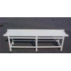 Courtmaster PVC Pro Bench - Shop the Best Selection of Tennis Court & Cabana Benches