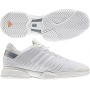 Adidas Barricade 8 by Stella McCartney Women's Tennis Shoes (White/ Grey)