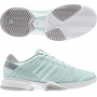 Adidas Barricade 8 by Stella McCartney Womens Tennis Shoes (White/ Aqua)
