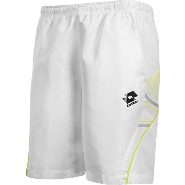 Lotto Men's LED Short (White/ Lizard Green)