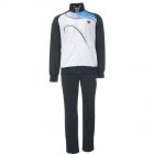 Lotto Men's LED Suit (White/ Blue) - Men's Outerwear Warm-Ups Tennis Apparel