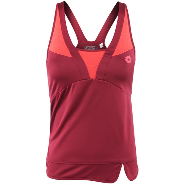 Lotto Women's Natty Tank (Velvet/ Rose)