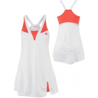 Lotto Women's Natty Dress (White/ Rose)