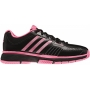 Adidas Barricade 7 Womens Tennis Shoes (Black/ Pink)