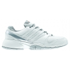 Adidas Women's Bercuda 3 Tennis Shoes (White/ Grey) - Women's Tennis Shoes