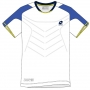 Lotto Men's Matrix Tech T-Shirt (White/ Blue)