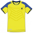 Lotto Men's Matrix Tech T-Shirt (Yellow/ Blue) - Lotto Men's Apparel Tennis Apparel