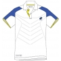 Lotto Men's Matrix Tech Polo (White/ Blue)