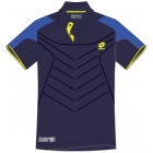 Lotto Men's Matrix Tech Polo (Navy/ Blue) - Lotto Men's Apparel Tennis Apparel