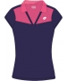 Lotto Women's Natty Polo (Mulberry/ Pink) - Lotto Women's Apparel Tennis Apparel
