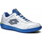 Lotto Men's Quaranta II (White/ Blue) - Men's Tennis Shoes