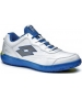 Lotto Men's Quaranta II (White/ Blue) - Lotto Tennis Shoes
