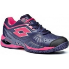 Lotto Women's Raptor Ultra IV Clay Tennis Shoes (Mulberry/ Pink) - Lotto Tennis Shoes