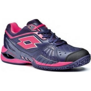 Lotto Women's Raptor Ultra IV Clay Tennis Shoes (Mulberry/ Pink)