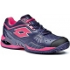 Lotto Women's Raptor Ultra IV Clay Tennis Shoes (Mulberry/ Pink) - Clay Court Tennis Shoes