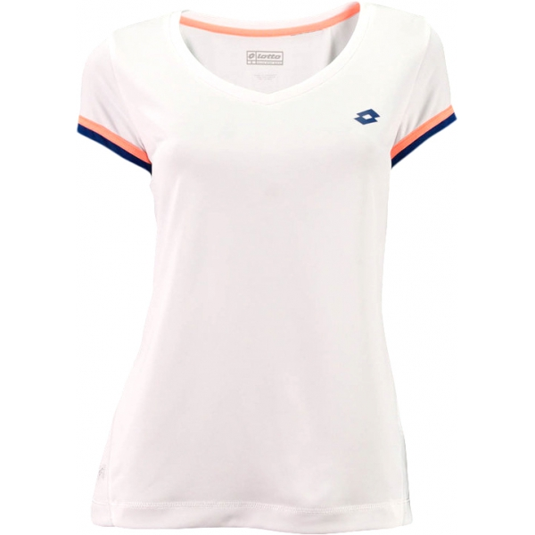 Lotto Women's Shela T-Shirt (White/ Navy)
