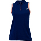 Lotto Women's Shela Sleeveless Polo (Navy/ White) - Women's Tops