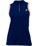 Lotto Women's Shela Sleeveless Polo (Navy/ White) - Women's Tops T-Shirts & Crew Necks Tennis Apparel