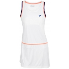 Lotto Women's Shela Dress (White/ Navy) - Lotto Tennis Apparel