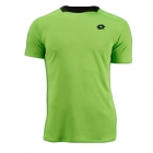 Lotto Men's Australian Open Crew Shirt (Clover/ Navy) - Lotto