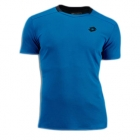 Lotto Men's Australian Open Crew Shirt (Blue/ Navy) - Lotto Men's Apparel Tennis Apparel