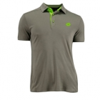 Lotto Men's Australian Open Polo (Cinder/ Clover) - Men's Tops Polo Shirts Tennis Apparel