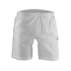 Lotto Men's 8 Inch Shorts (White) - Men's Shorts Tennis Apparel