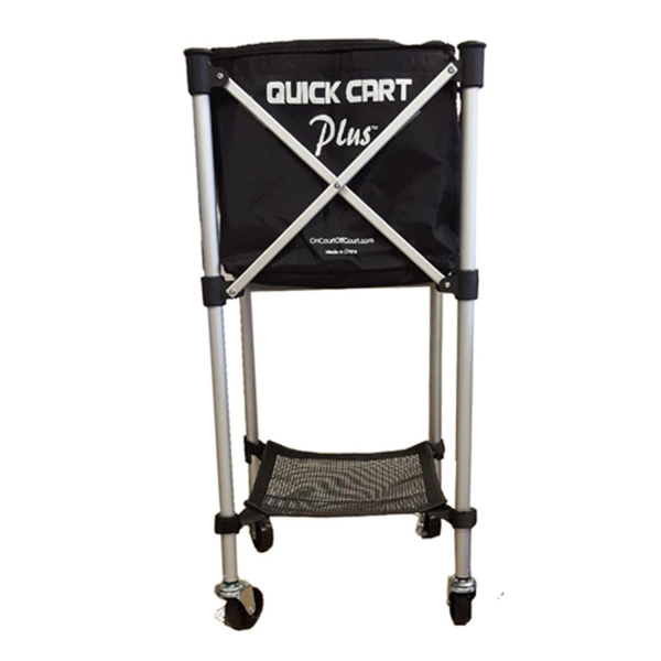 Oncourt Offcourt Quick Cart Plus Canvas Tennis Ball Cart