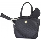 Court Couture Cassanova Tennis Bag (Quilted Black) - Designer Tennis Bags - Luxury Fabrics and Ultimate Functionality